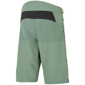 Ziener Efron X-Function fietsbroek kort Heren, green mud